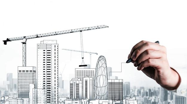 Zivilplanung und immobilienentwicklung
