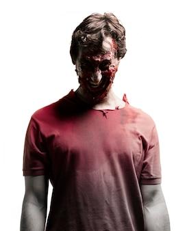 Zombie mit dunklem gesicht Kostenlose Fotos
