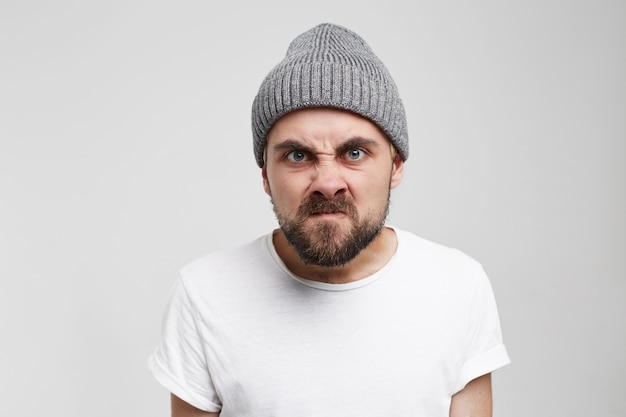 Zorn frustration emotionen gefühle psychische störung konzept.