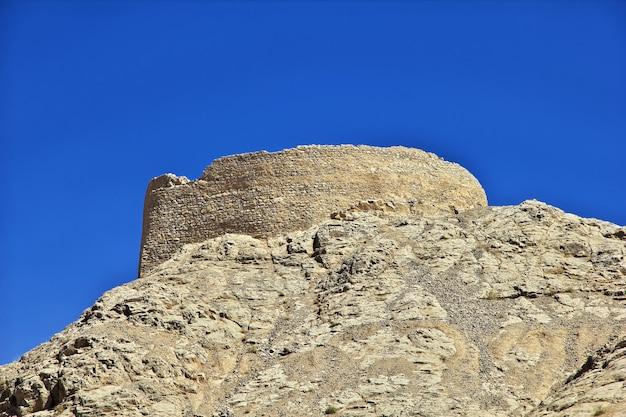 Zoroastrische ruinen in yazd im iran