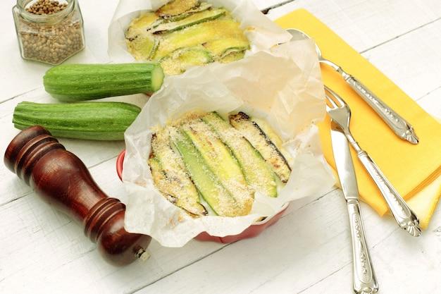 Zucchini-parmigiana