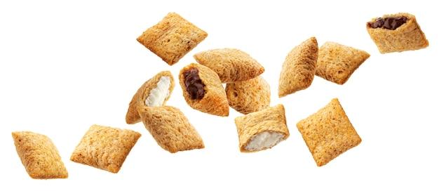 Zuckermais-pads lokalisiert auf weiß