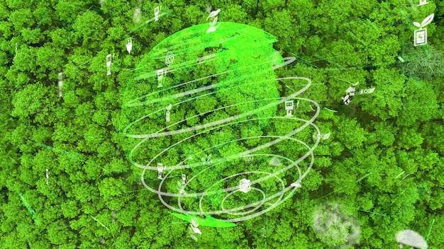 Zukünftiger umweltschutz und nachhaltige entwicklung der esg-modernisierung