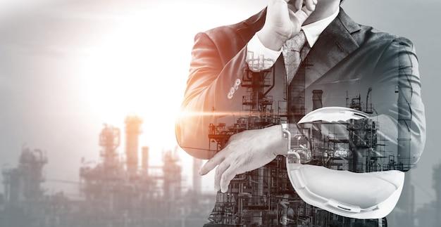 Zukünftiges fabrikanlagen- und energiewirtschaftskonzept.