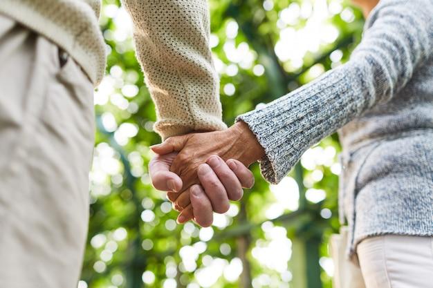 Zuneigung von senioren