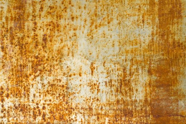 Zusammenfassung korrodierte rostige metallhintergrundbeschaffenheit, graues braun
