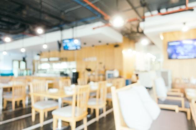 Zusammenfassung unschärfe und defokussiert restaurant und café