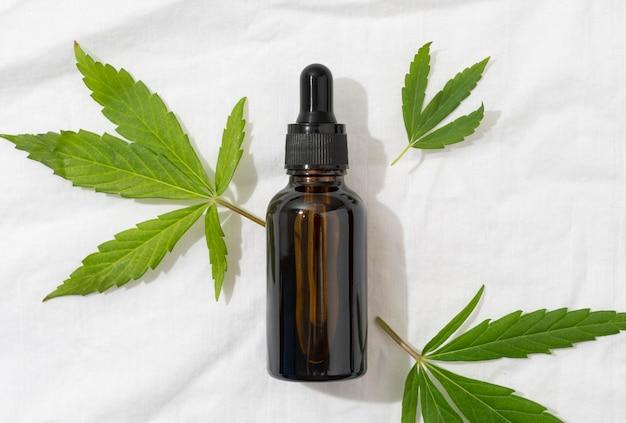 Zusammensetzung der cannabisölflasche
