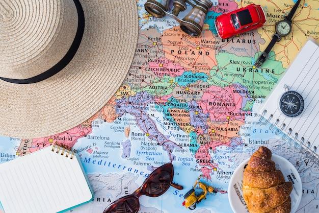 Zusammensetzung der reiseelemente