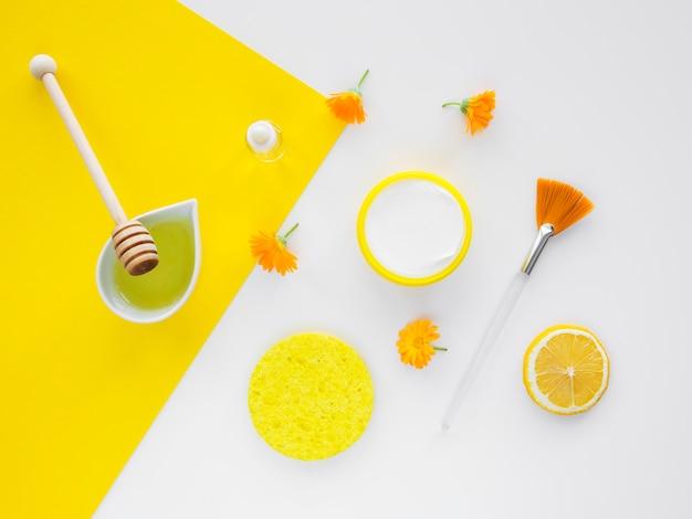 Zusammensetzung der spa-behandlung mit honig