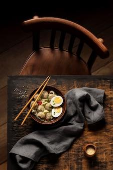 Zusammensetzung des köstlichen indonesischen bakso