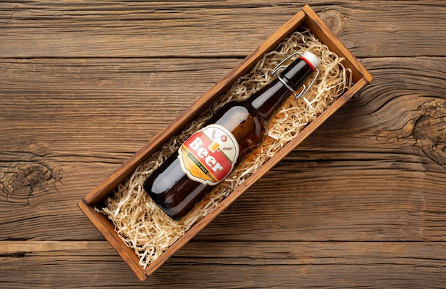 Zusammensetzung mit leckerem amerikanischem bier