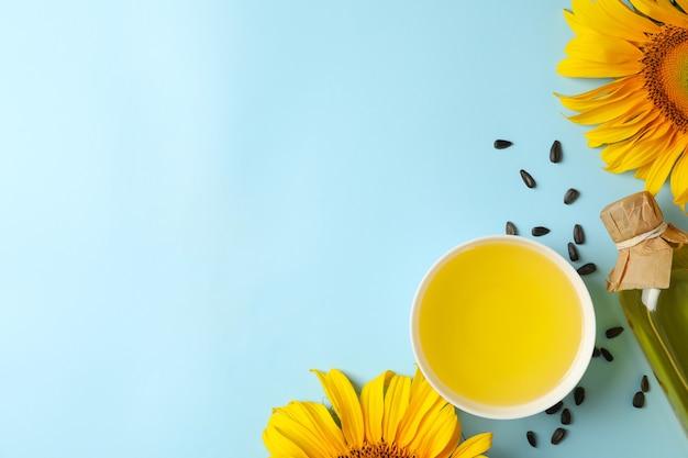 Zusammensetzung mit sonnenblume, samen und öl