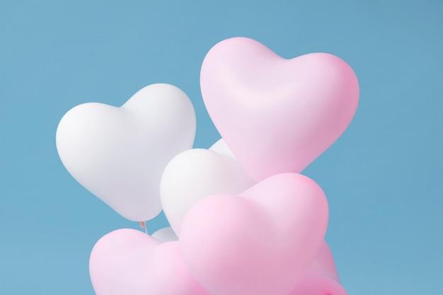 Zusammensetzung verschiedener festlicher ballons