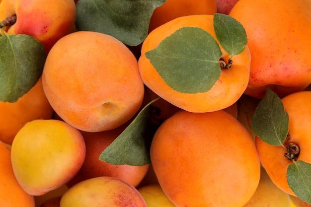 Zusammensetzung vieler pfirsichsorten. frische fruchtpfirsiche.