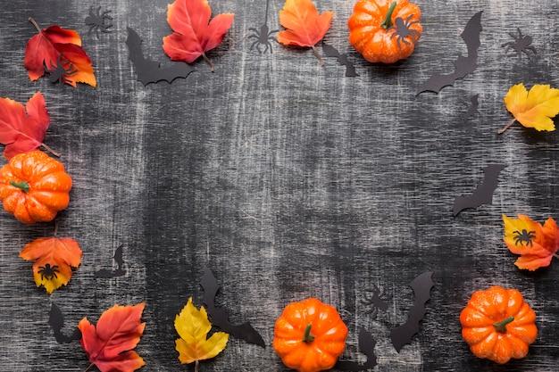 Zusammensetzung von halloween-elementen