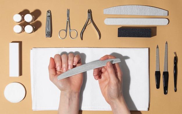 Zusammensetzung von nagelpflegeprodukten