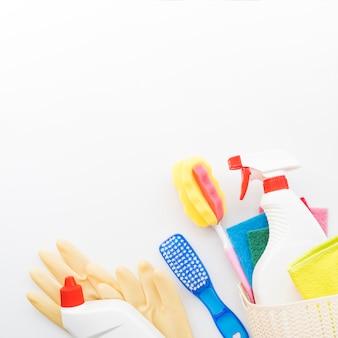Zusammensetzung von reinigungsobjekten mit exemplar
