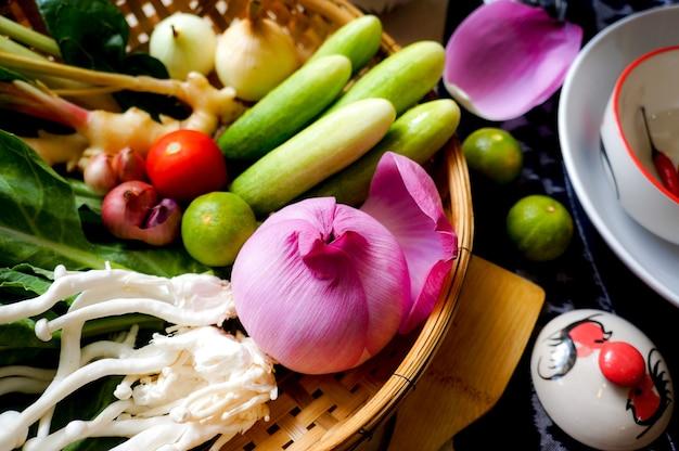 Zutat für thailändisches essen