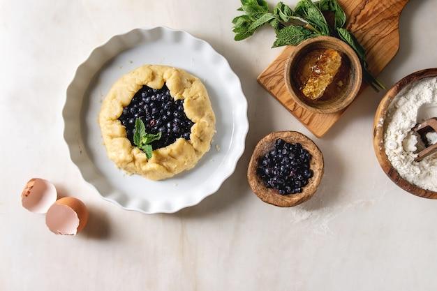 Zutaten für beerenkuchen backen