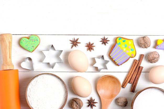 Zutaten für das weihnachtsbacken