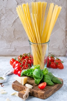 Zutaten für spaghetti-sauce