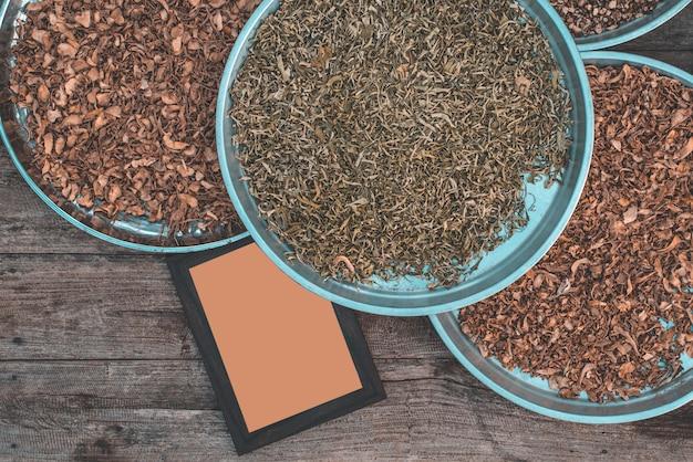 Zutaten roh für die zubereitung von lebensmitteln