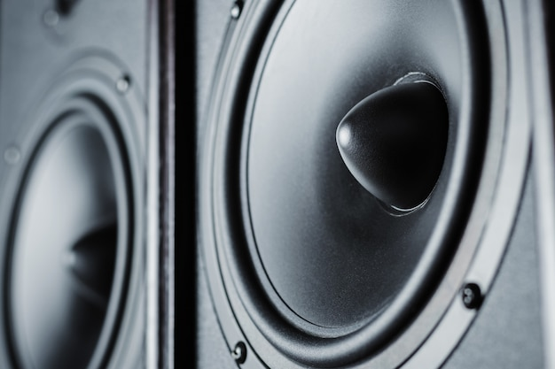 Zwei audio-sound-lautsprecher