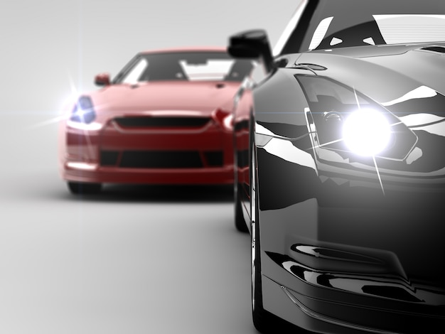 Zwei autos