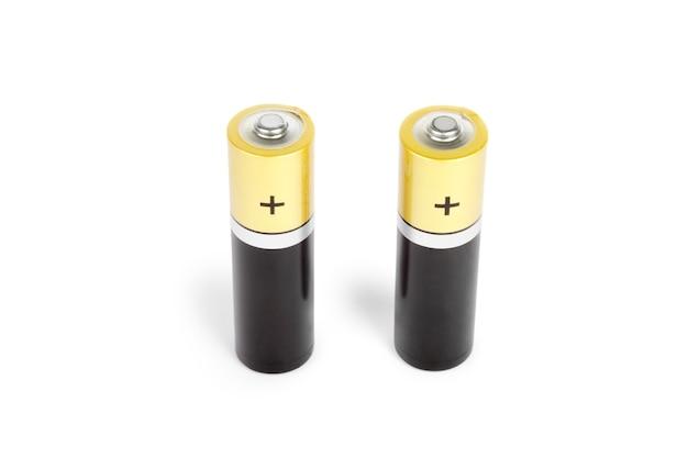Zwei batterie größe aa isoliert