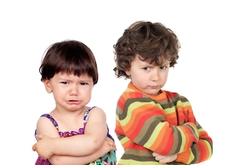 Zwei böse Kinder