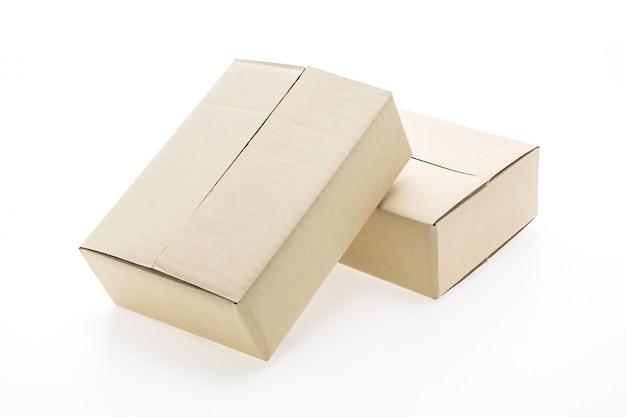 Zwei kartonverpackung