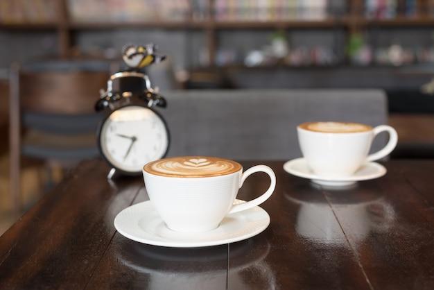 Zwei tassen kaffee