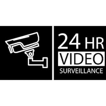 24 hours video surveillance system