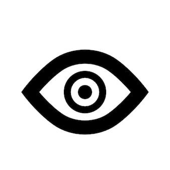 Контур глаз