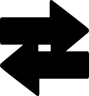 両側の矢印