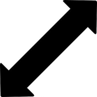 矢印を広げる
