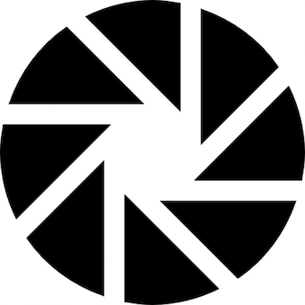 Aperture photography symbol