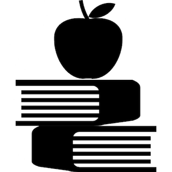 Apple and book