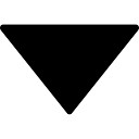 Arrow down filled triangle
