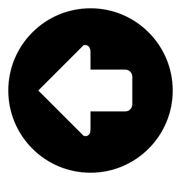 Arrow in a circle point to left