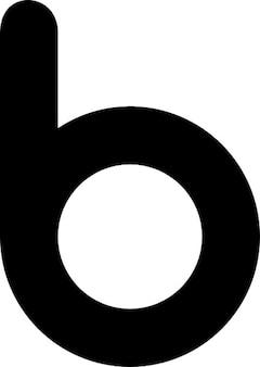 B icona