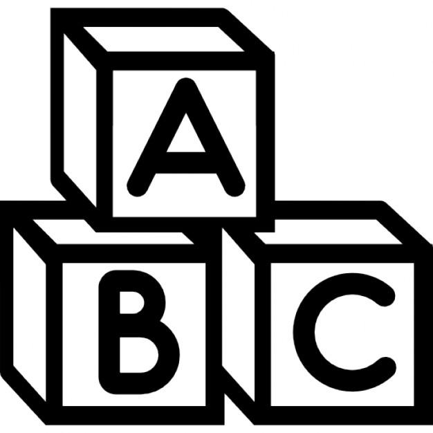 Baby abc cubes