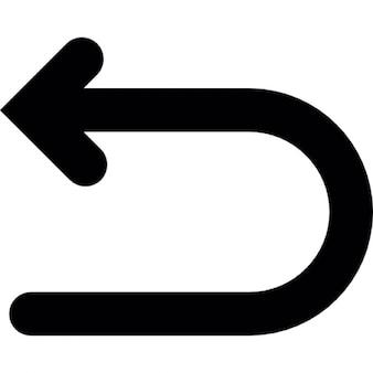 Back arrow, IOS 7 interface symbol