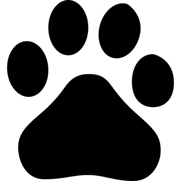 Sports logo black paw print clipart vector labs paw vectors photos and psd files free download rh freepik com thecheapjerseys Images