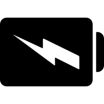 Battery charged symbol
