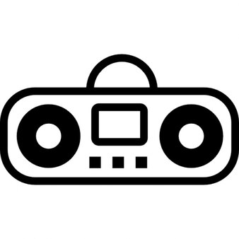 Boombox cartoon variant