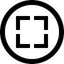Box circular button