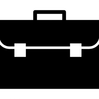 Briefcase frontal view