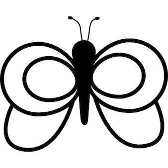 Butterfly Outline Vectors, Photos And PSD Files | Free ...